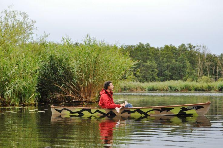Kanu fahren auf der Peene #kanufahren #kanubau