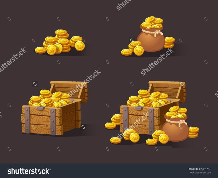 stock-vector-wooden-chest-set-for-game-interface-vector-illustration-treasure-of-gold-coins-on-dark-background-435861754.jpg (1500×1225)