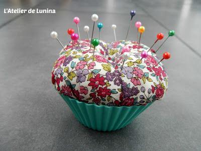 Tuto DIY Porte épingle muffin - Sewing