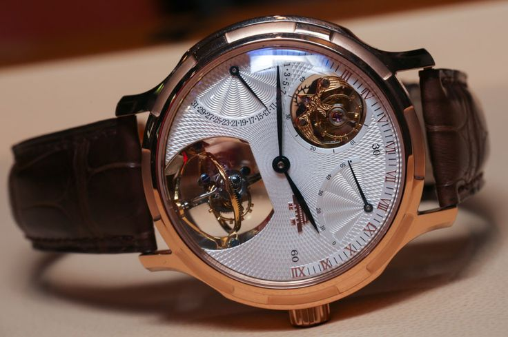 "Beijing Watch Factory Wu Ji ""Infinite Universe"" Bi-Axial Tourbillon Watch Hands-On"