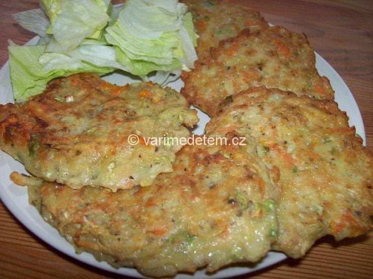 Bramboráčky se zeleninou (foto)
