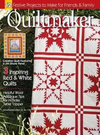 Quiltmaker №172 2016 скачать бесплатно