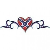 Southern Sisters Designs - Rebel Flag T Shirt Tribal Heart, $15.50 (http://www.southernsistersdesigns.com/products/Rebel-Flag-T-Shirt-Tribal-Heart.html)