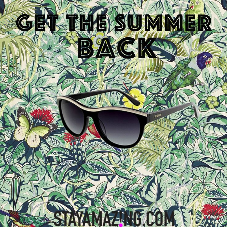 Feel the Summer all the time with our selection of designer sunglasses! Shop now at StayAmazing.com #sunglasses #designers #StayAmazing