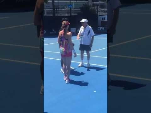 Leander Paes and Martina Hingis - Australian Open 2017