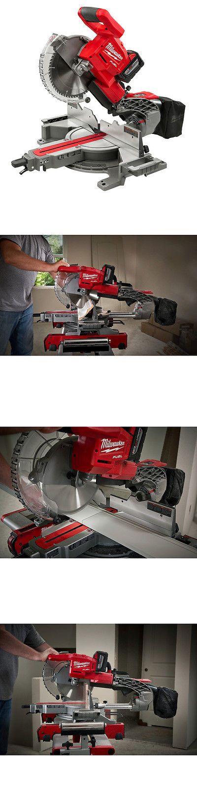 Miter and Chop Saws 20787: Milwaukee Fuel 18V Dual-Bevel Slide Compound Miter Saw W 2 Batt. 2734-21Hdp New -> BUY IT NOW ONLY: $599 on eBay! http://www.wartalooza.com/general-information/hand-warts