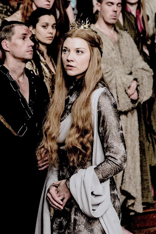 Natalie Dormer as Margaery Tyrell in Game of Thrones, season 6 episode 10, The Winds of Winter.