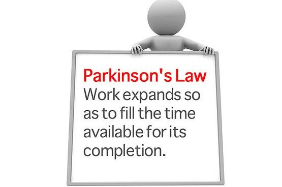 parkinsons law - Google Search