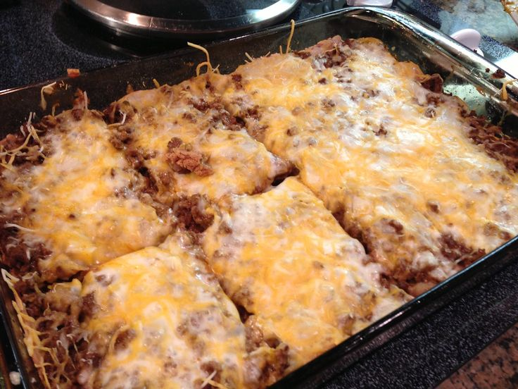 Weight Watchers Burrito Bake: 6 Points+