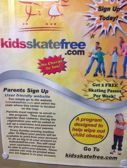 Free Fun in Austin: Kids Skate Free at Playland Skate Center