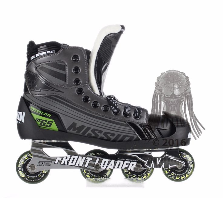 #Mission dsg5 inline #roller #hockey goalie skates - senior size,  View more on the LINK: 	http://www.zeppy.io/product/gb/2/142088584810/