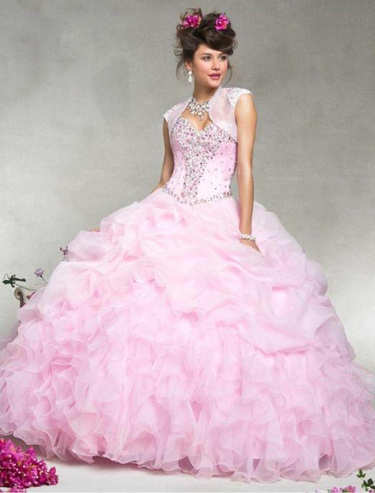 62 best Quinceanera Dresses images on Pinterest | Quinceanera ideas ...