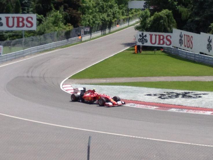 Raikkonen F1 Ferrari GP of Montreal 2014
