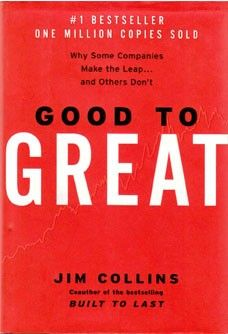 Readers of the book will be shocked by some of Collins' research results, yet, promised exclusive insights of critical concepts that make good companies leap and emerge as great companies for a sustained period of time :)