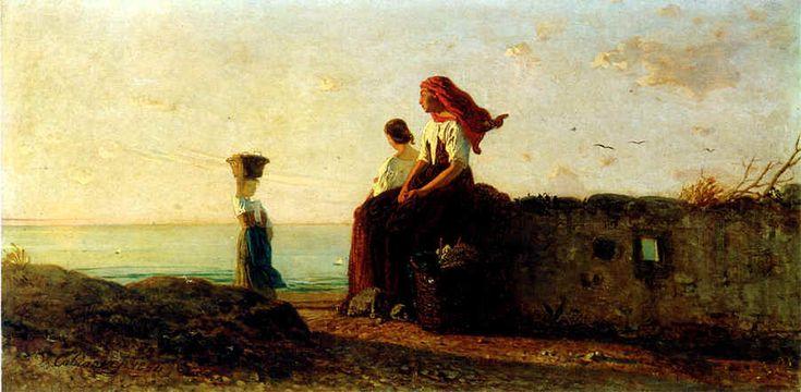 Vincenzo Cabianca, Donne della Liguria (1864)