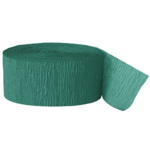 Crepe Streamer 500' Emerald Green