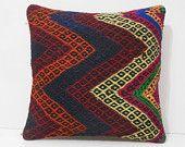 18x18 interior seaside cushions cottage throw cushions striped throw pillow tribal cushions handwoven knitted cushions western kilim pillows