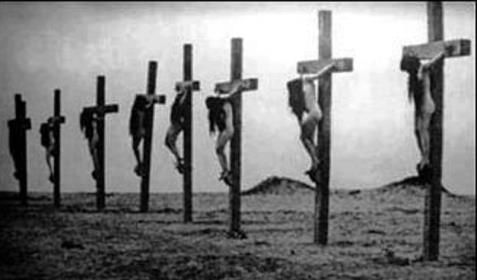 """""""Each Christian girl had been nailed alive upon her cross, spikes through her feet and hands, only their hair blown by the wind, covered their bodies."""" The Forgotten Armenian Genocide (in Turkey): Why It Matters Today"""