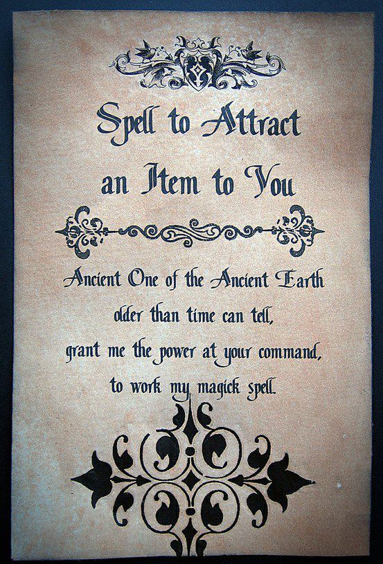 Attraction Spell