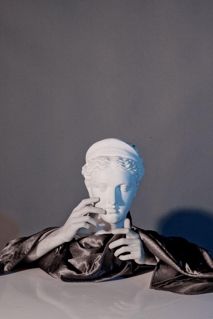 Human Sculpture - David Nemcsik, 2013