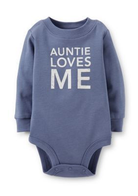 Carters  Auntie Loves Me Bodysuit