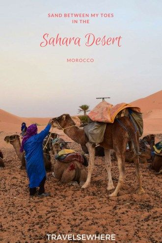 An unmissable experience for those travelling to Morocco, a visit to the Erg Chebbi dunes of the Sahara Desert of Africa is a once in a lifetime experience, via @travelsewhere
