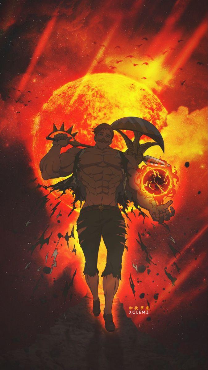 Escanor Anime Fight Seven Deadly Sins Anime Anime Wallpaper