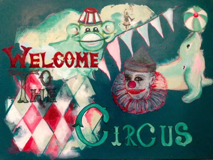Welcome to the circus. Kristina borregaard Hall. Kriskrea.
