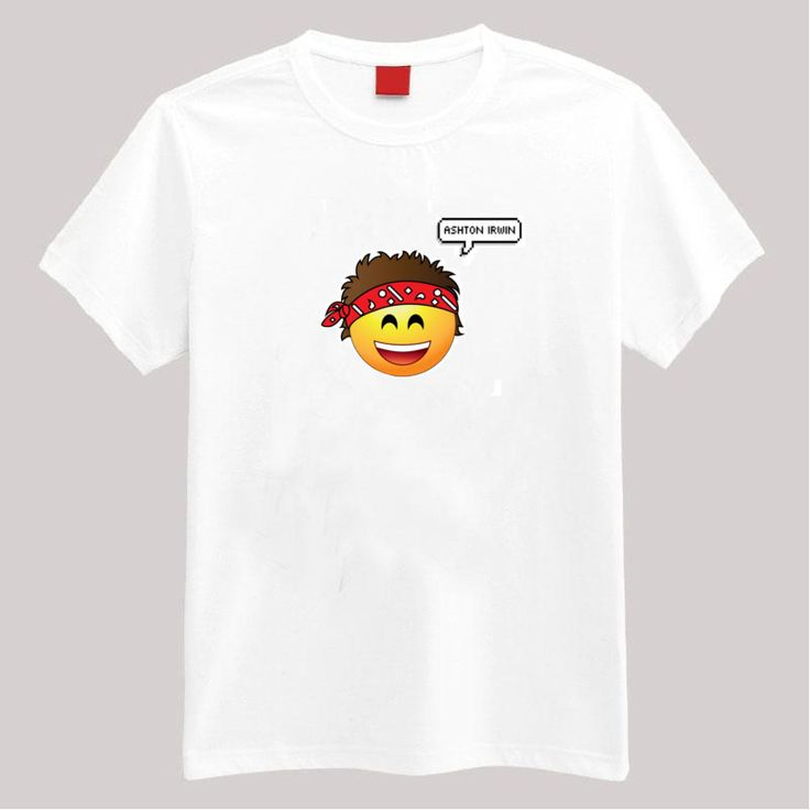 ashton irwin 5sos emoji t shirt. Black Bedroom Furniture Sets. Home Design Ideas