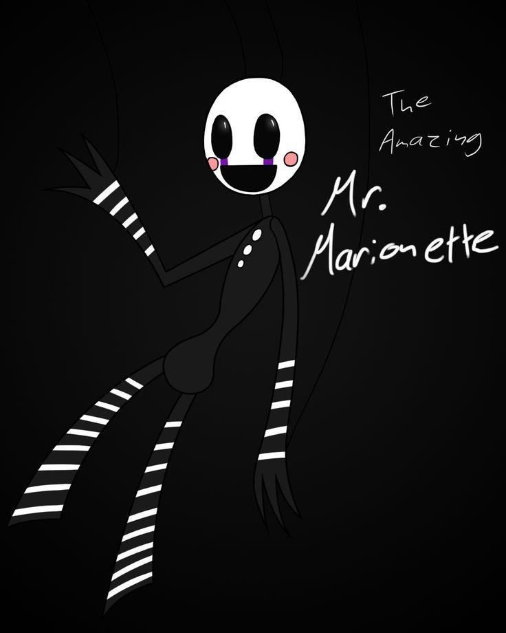 The Amazing Mr. Marionette by GrimdarkOwl.deviantart.com on @deviantART