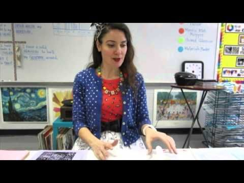 Cassie Stephens: In the Art Room: Troubleshooting Printmaking with the Littles This post has demo videos and step by step for 1st -3rd. Excellent