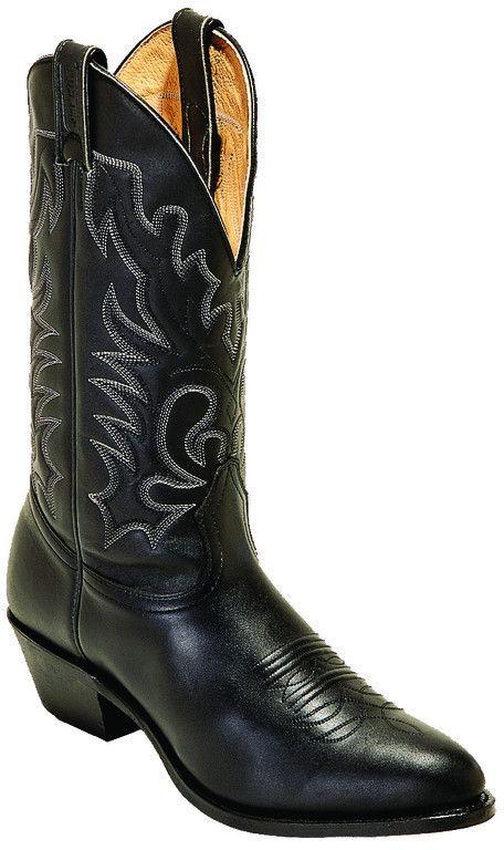 Boulet Men's Black Challenger Medium Cowboy Toe Western Boot [0064]