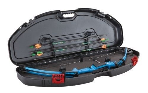 Compact Bow Case Archery Arrows Hard Ultra Protector Storage Lock Equipment New