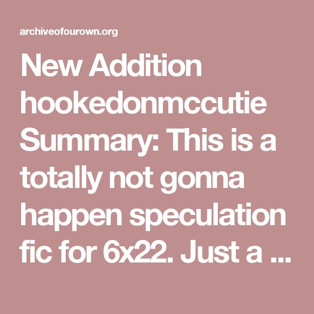 New Addition hookedonmccutie  Summary:  This is a totally not gonna happen speculation fic for 6x22. Just a conversation for Killian becoming new deputy or whatever he becomes. Because I needed it. Work Text:  Emma sighed of relief when she finally walked into her home. Not that it was a hard day. Hell, it was simple, easy, and normal, given where they were. All she did was take Henry to school with Regina, paperwork and patrol, and break up a small argument between two dwarves during her…