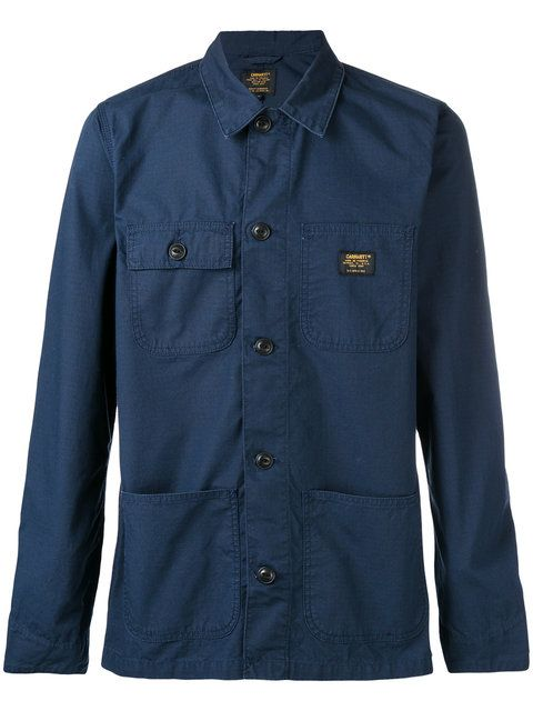 CARHARTT pocketed shirt jacket. #carhartt #cloth #jacket
