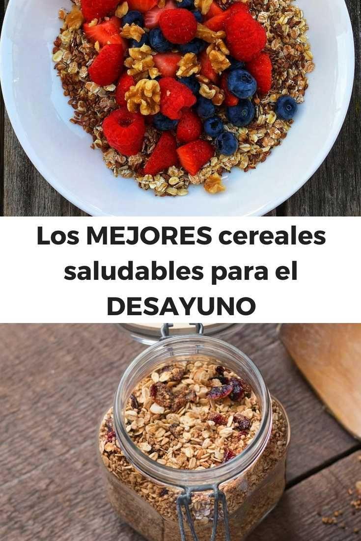 Los MEJORES cereales saludables para el DESAYUNO #runfitners #vidasaludable #lifestylesaludable Best Abdominal Exercises, Acai Bowl, Breakfast, Ideas Para, Packaging, Food, Tips, Hall Runner, Healthy Cereal