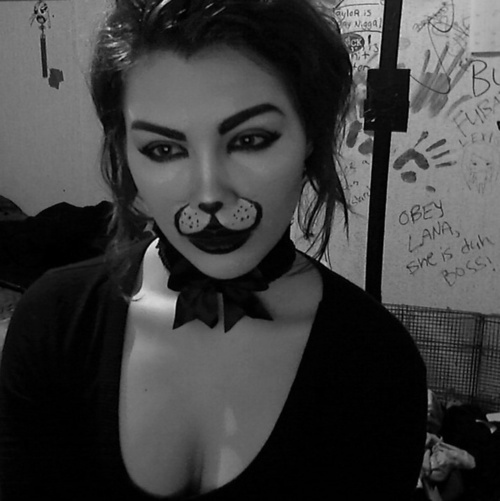 Oh, danyelle what are you for halloween? FIERCE HONEY BUNNY