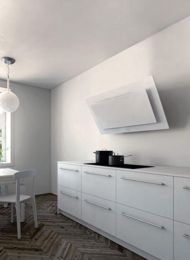 Een diagonale design wasemschouw van Novy. Type Vision.