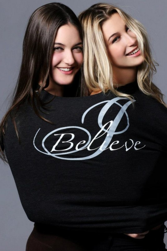Hailey and Alaia Baldwin Join Father Stephen Baldwin for So Lucky To B Me Apparel Line