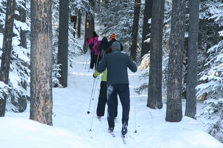 Cross Country Skiing in the Cypress Hills - The Resort at Cypress Hills