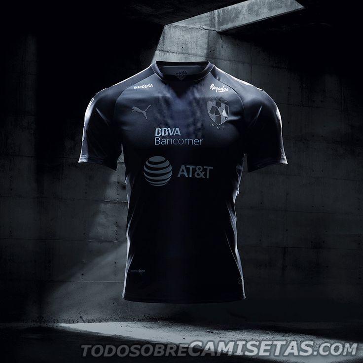 Camiseta visitante PUMA de Rayados de Monterrey 2017-18