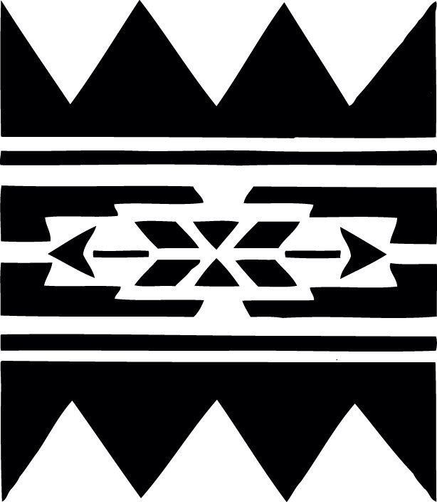 STENCIL Native American Wall Border No 223 10x8.7 by ArtisticStencils on Etsy https://www.etsy.com/listing/114422821/stencil-native-american-wall-border-no