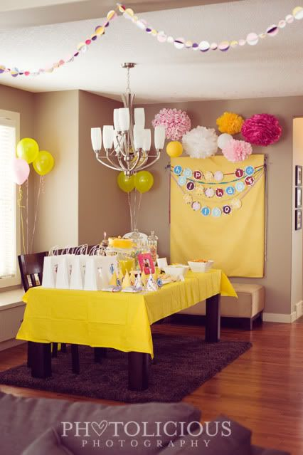 Super cute for a little girls party