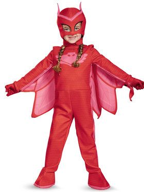 toddler deluxe pj masks owlette costume unique halloween