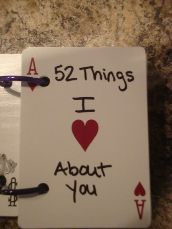 Make a book of cards explaining things you love about another person! For all of your crafting wants and needs visit Walgreens.com!