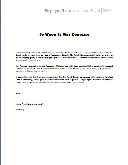 cover letter with referral from employee