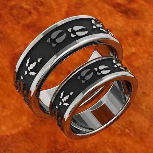 titanium wedding rings turkey creek