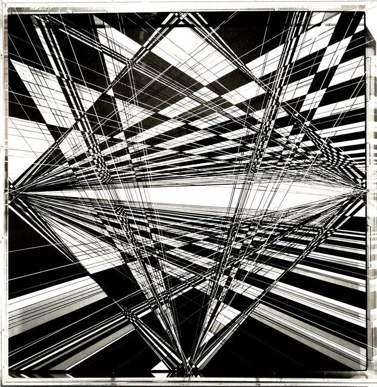 Thomas Canto, (1979), Senza titolo / Ohne Titel, 2015, Tecnica mista / Mischtechnik, 80 x 80 cm