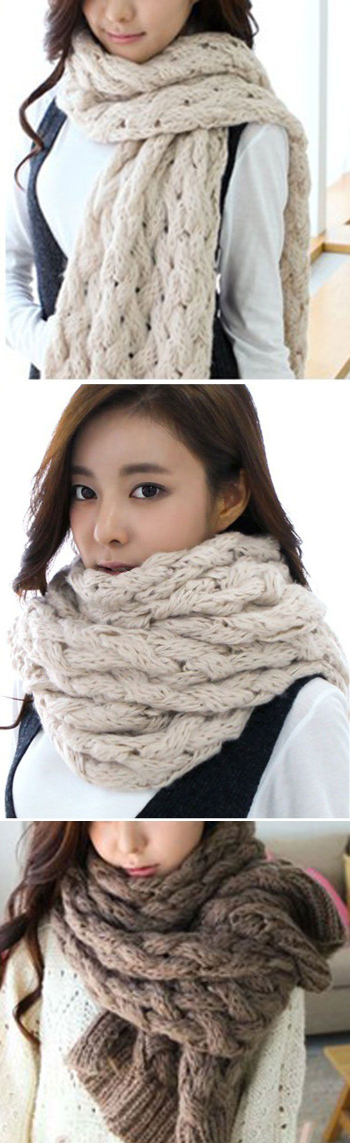 Meet the new Knits---cross,soft and ready for anything. The Cross Scarf is made in comfy mohair. More surprises at CUPSHE.COM !