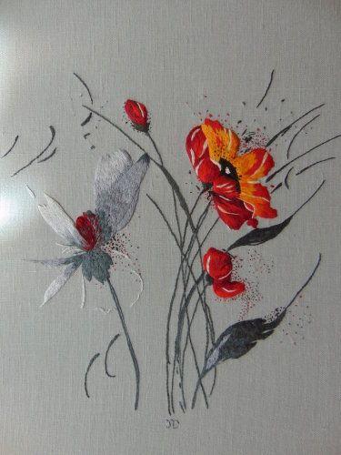 Peinture à l'aiguille réalisée par Jocelyne